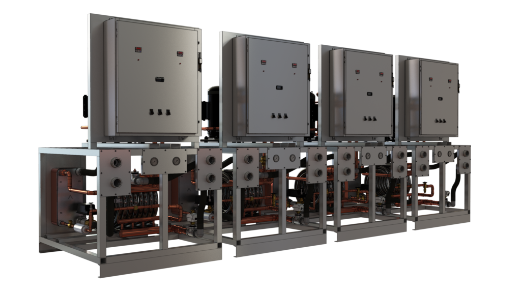 modular water cooled chillers