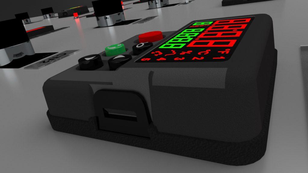 Control panel digital readout solution