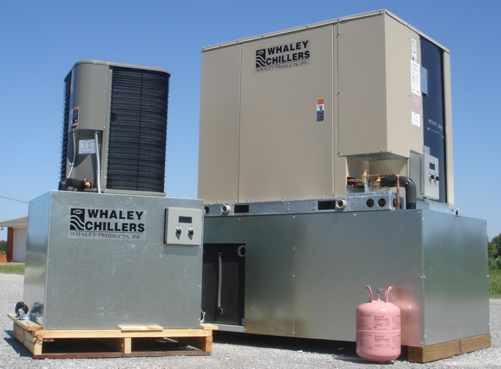 R-410A air-cooled chillers