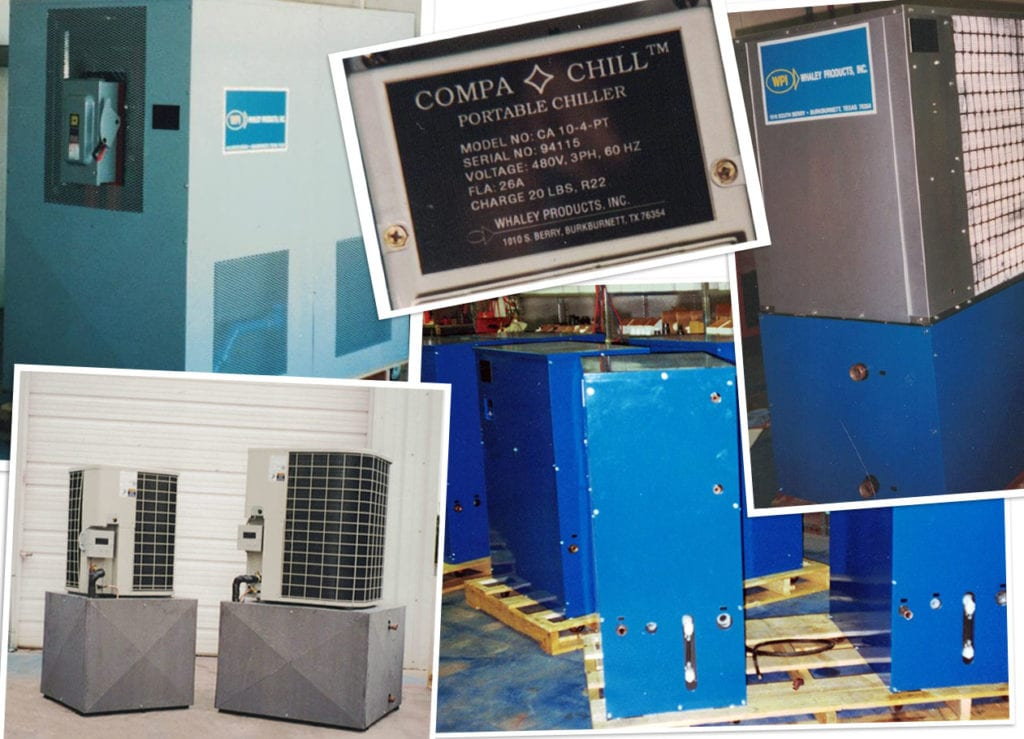 Compa Chill air-cooled chillers