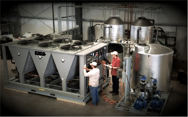 Whale Soft chiller system testing