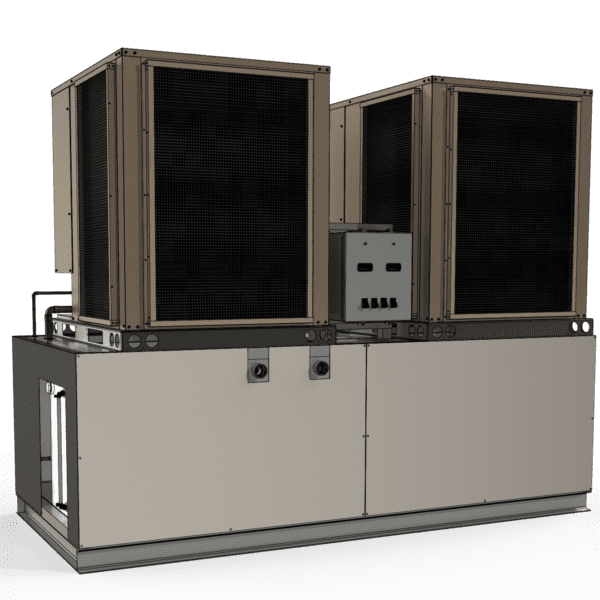 15 ton Dual Circuit Rack-Style Air-Cooled Chiller
