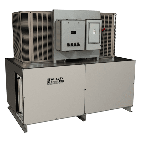 4 ton Rack-Style Dual Circuit Air-Cooled Chiller