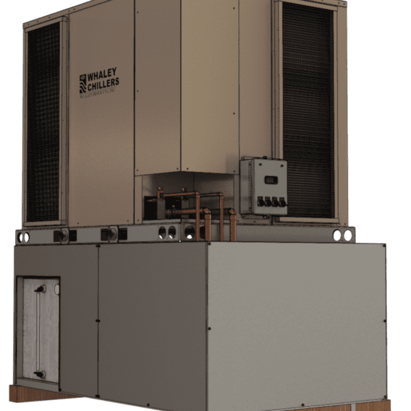 12.5 ton Dual Circuit Air-cooled Packaged Chiller