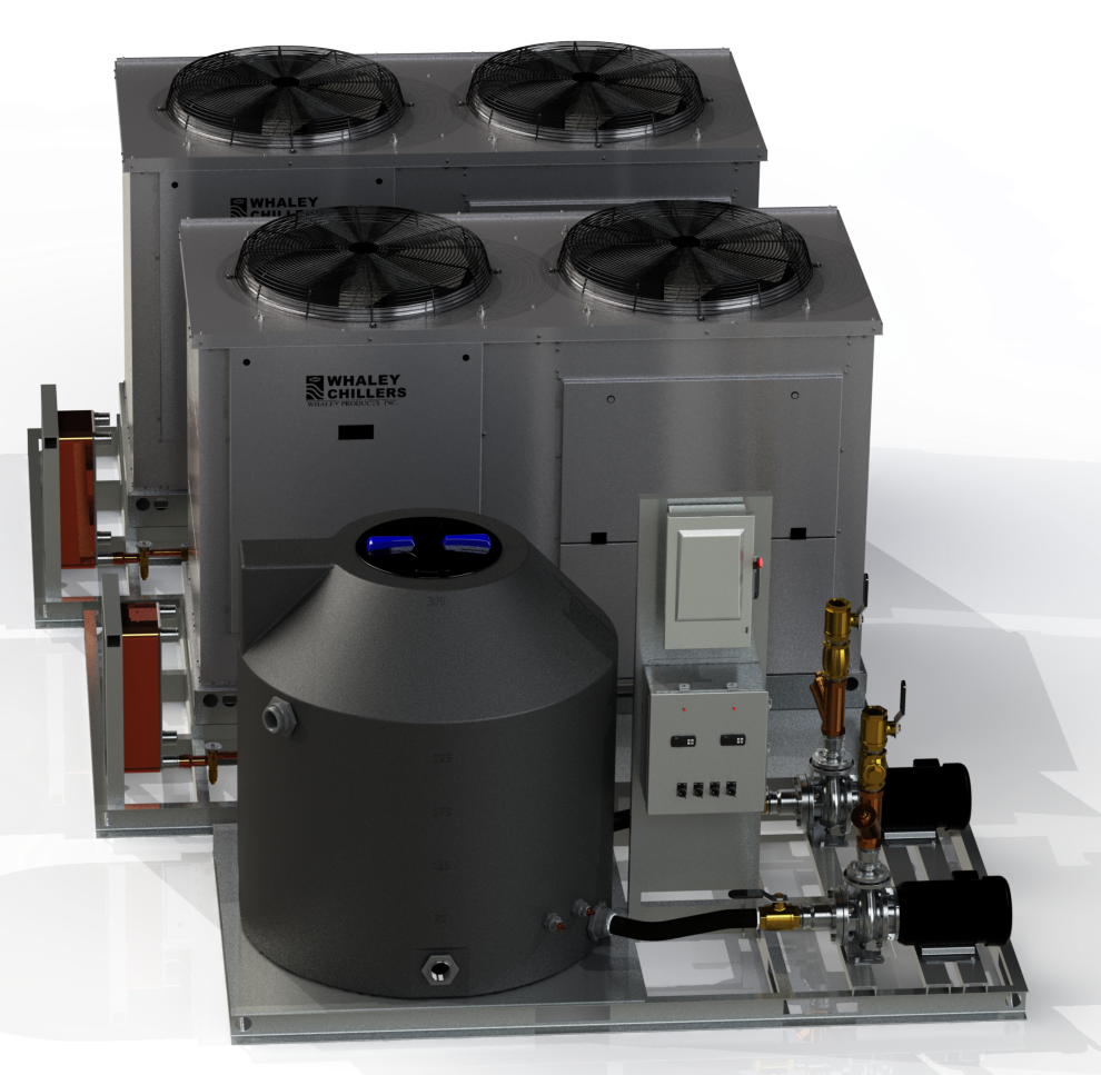 Redundant chiller systems minimize downtime