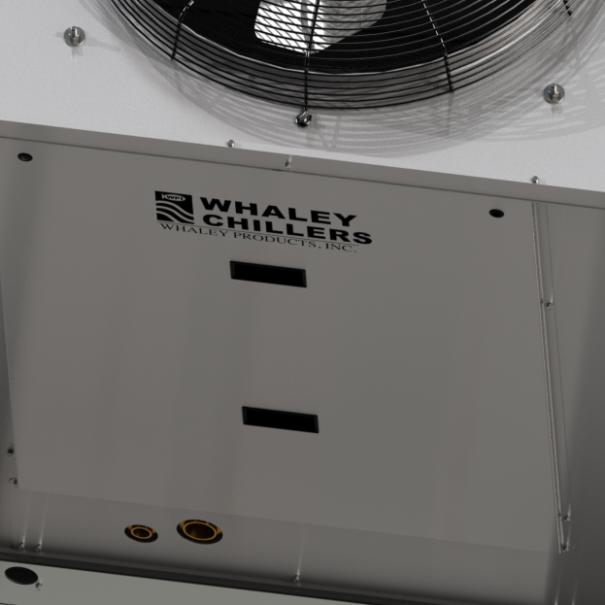Modular air-cooled chillers redundant