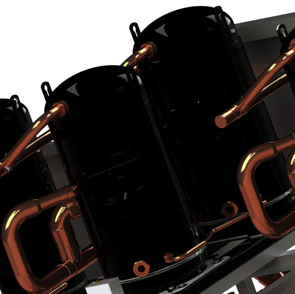 water-cooled chiller compressors