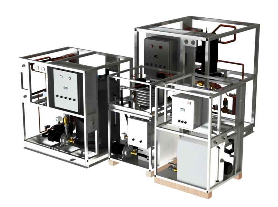 Water-cooled Chillers 2 tons to 50 tons