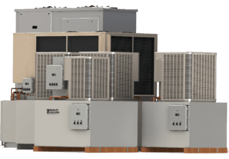 rack air-cooled chiller system 100 ton