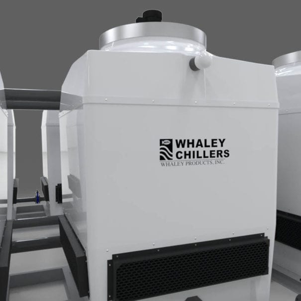 Cooling Tower Two-Skid 04 Packaged System