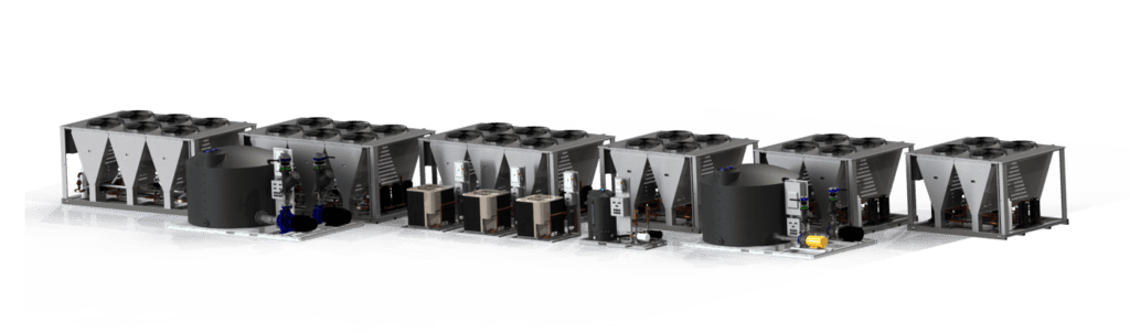Modular Air-cooled chillers
