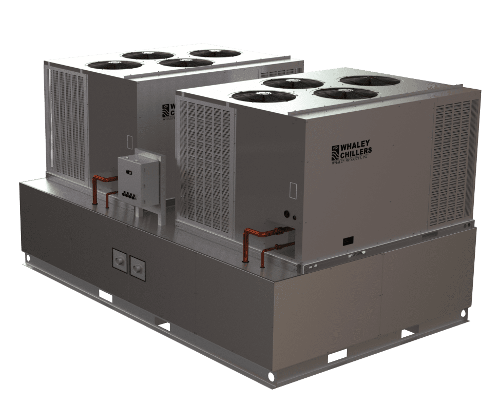 packaged rack style chiller