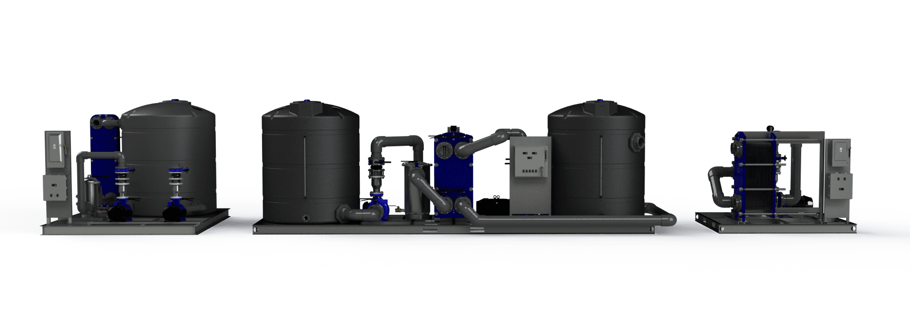 Pump Tank Systems for Towers