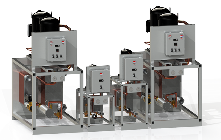 water-cooled chiller up to 80 tons